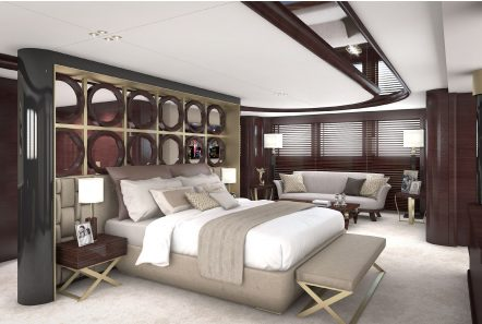 grand ocean mega yacht charter owners suite (2) min -  Valef Yachts Chartering - 3084