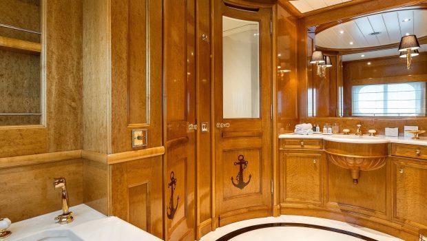 grand ocean mega yacht charter suits bath (9) min -  Valef Yachts Chartering - 3069