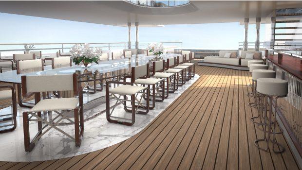 grand ocean mega yacht charter sundeck (1) min -  Valef Yachts Chartering - 3068