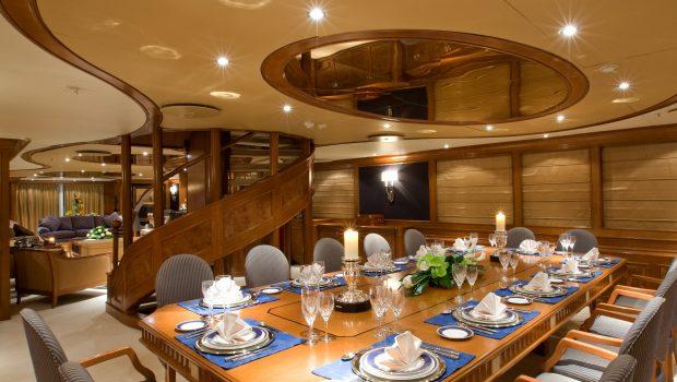 insignia megayacht dining min -  Valef Yachts Chartering - 3456