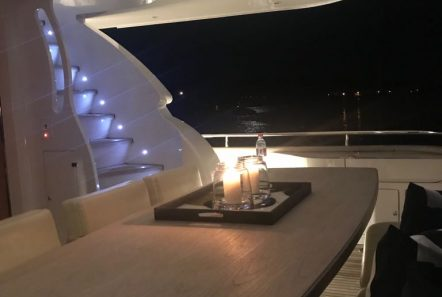 irenes motor yacht dining -  Valef Yachts Chartering - 3478
