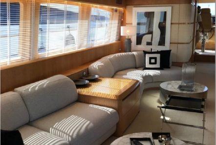 irenes motor yacht salon (9) -  Valef Yachts Chartering - 3476