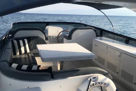 irenes motor yacht sun deck -  Valef Yachts Chartering - 3475