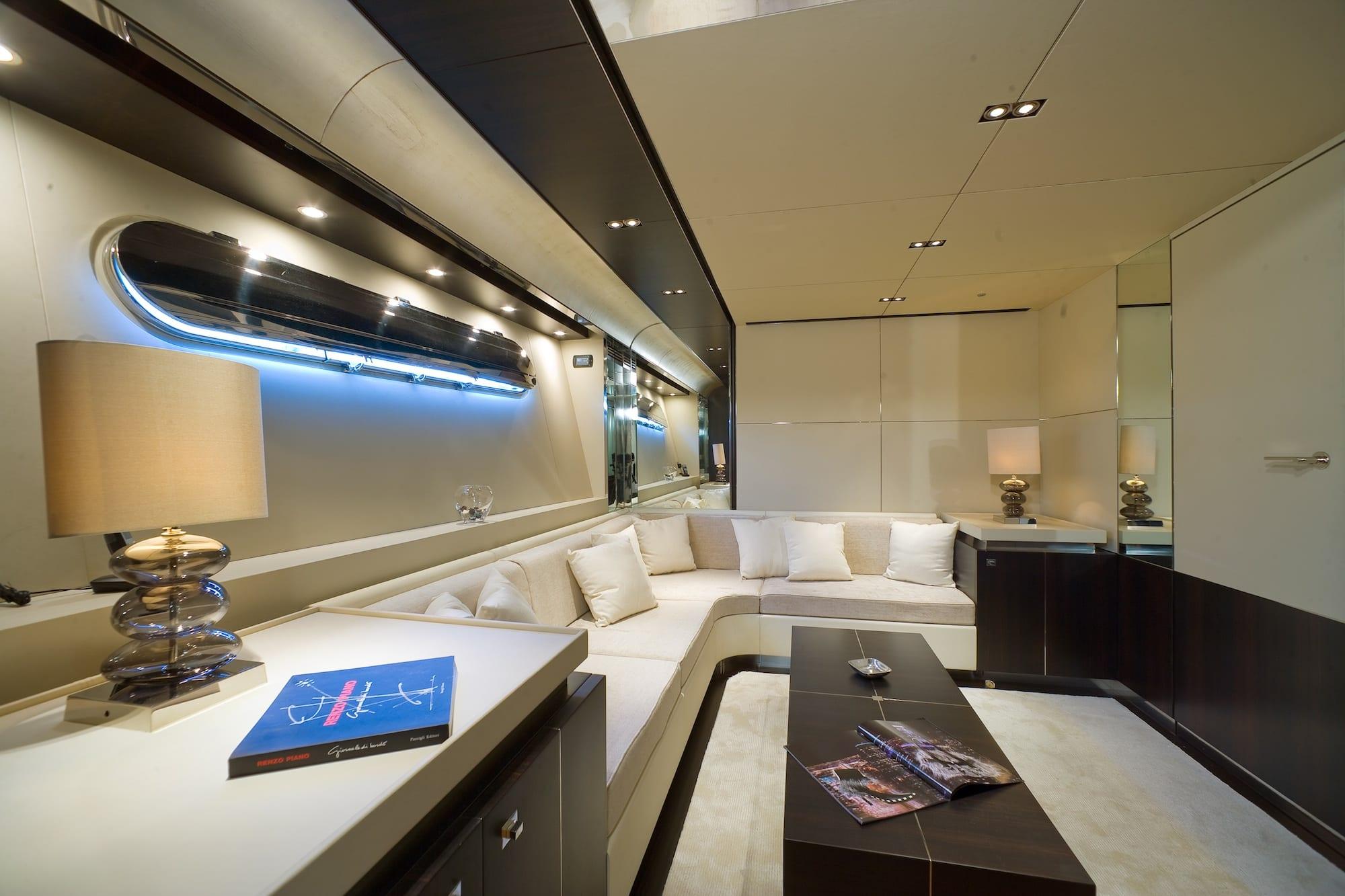kambos blue open motor yacht salon master -  Valef Yachts Chartering - 3194