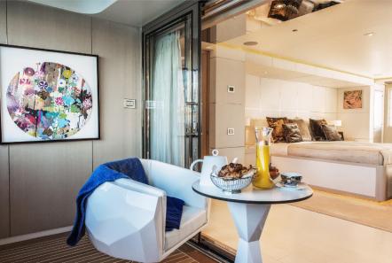 light holic megayacht balcony -  Valef Yachts Chartering - 3169