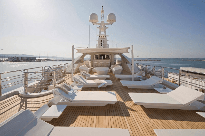 light holic megayacht decks (7) -  Valef Yachts Chartering - 3178