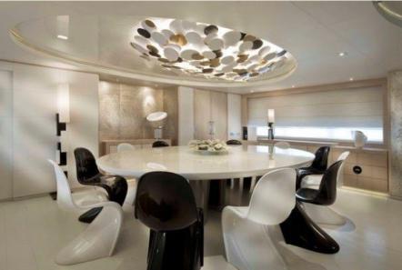 light holic megayacht dining -  Valef Yachts Chartering - 3173