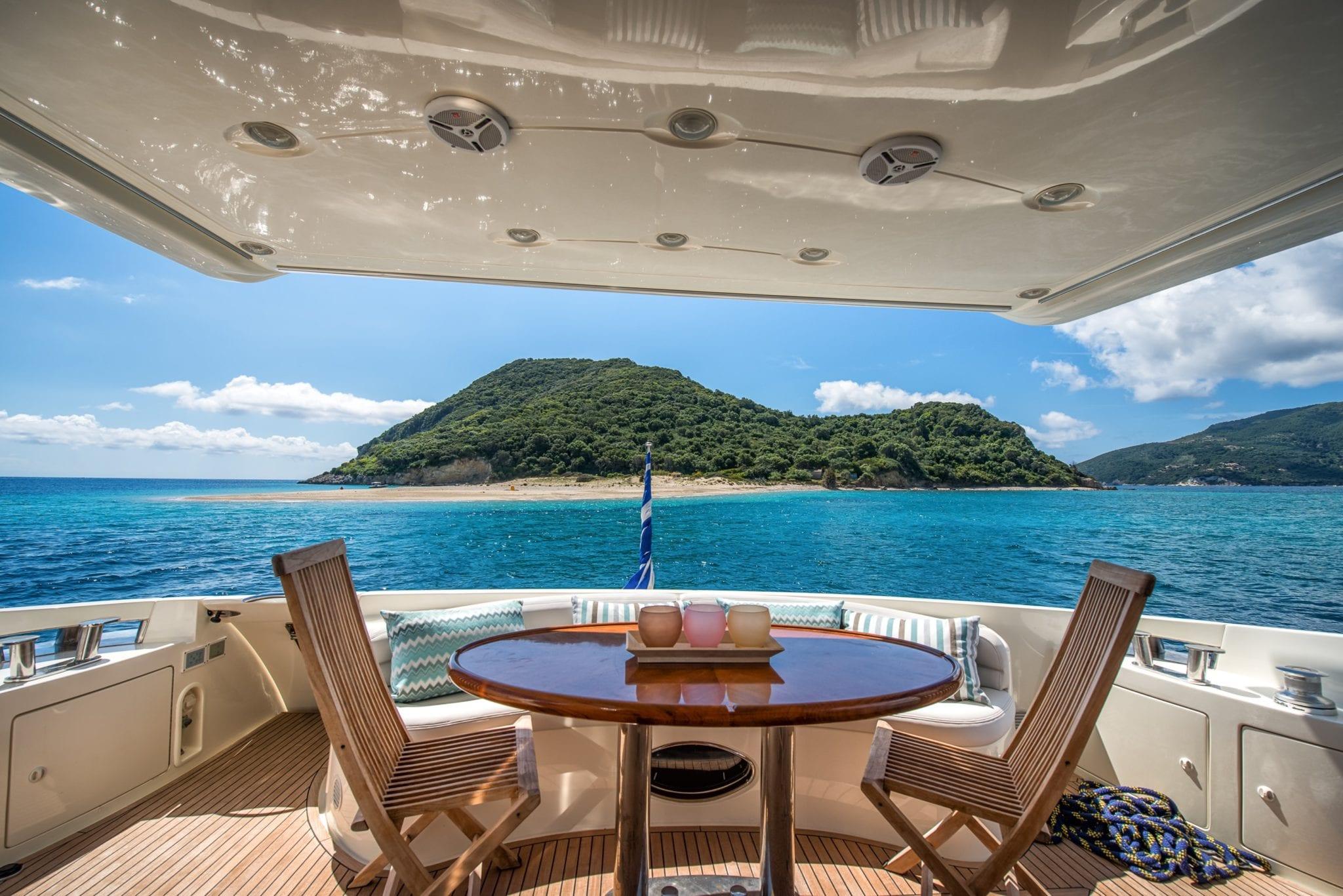 manu motor yacht aft deck min -  Valef Yachts Chartering - 3314