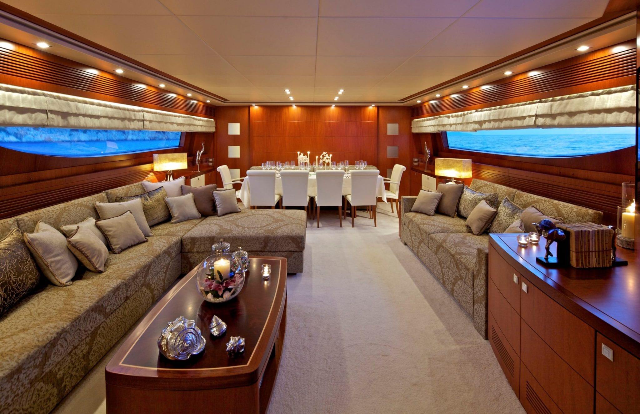 marnaya motor yacht salon min -  Valef Yachts Chartering - 2559