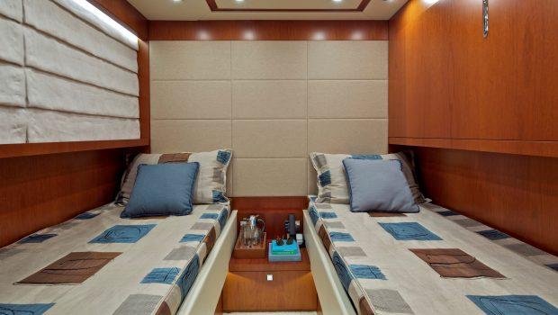 marnaya motor yacht twin cabin min -  Valef Yachts Chartering - 2555