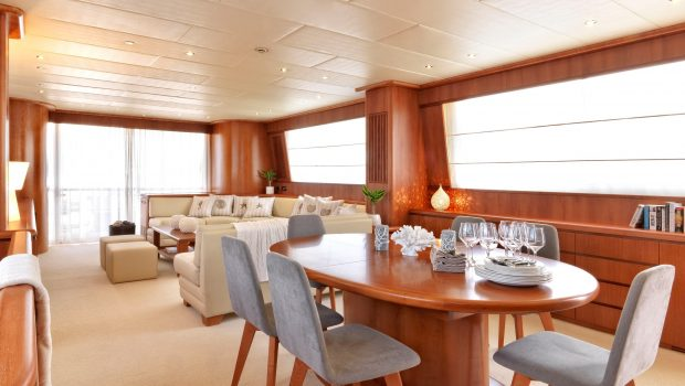martina motor yacht dining (1) min min -  Valef Yachts Chartering - 3207