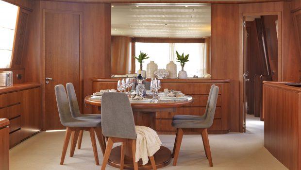 martina motor yacht dining (3) min min -  Valef Yachts Chartering - 3205