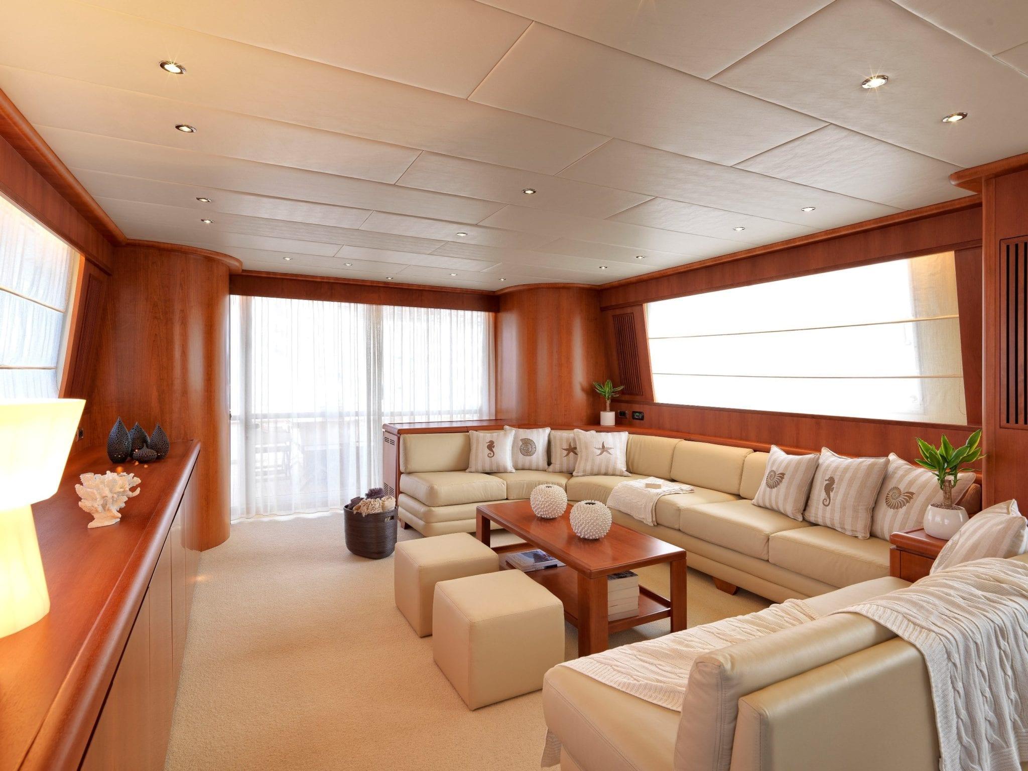 martina motor yacht salon min min -  Valef Yachts Chartering - 3217