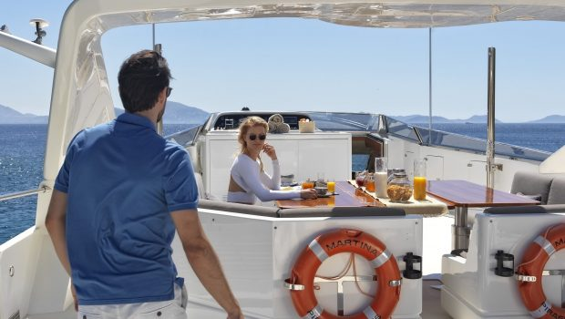 martina motor yacht sundeck (2) min min -  Valef Yachts Chartering - 3215
