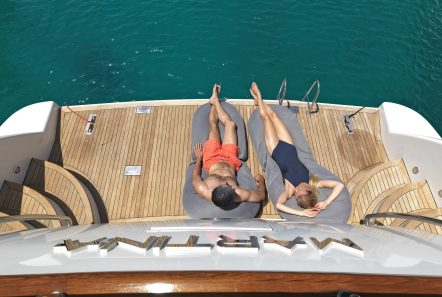 martina motor yacht swim platform min min -  Valef Yachts Chartering - 3214