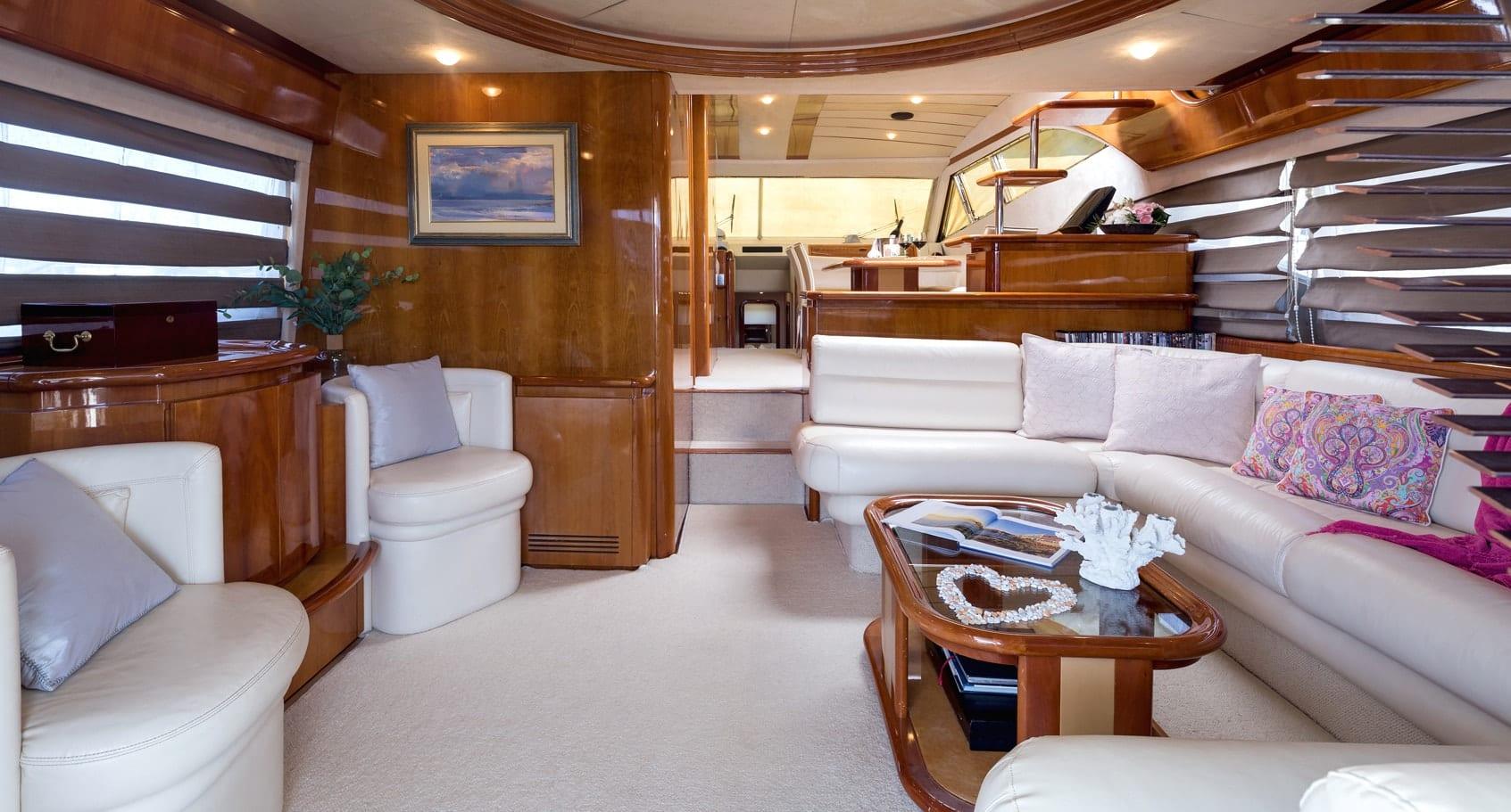 meli motor yacht salon main min -  Valef Yachts Chartering - 2900