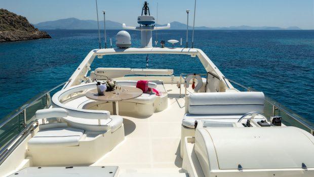 meli motor yacht sundeck min -  Valef Yachts Chartering - 2899
