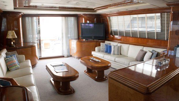 monte carlo falcon motor yacht salon (1) min -  Valef Yachts Chartering - 3135