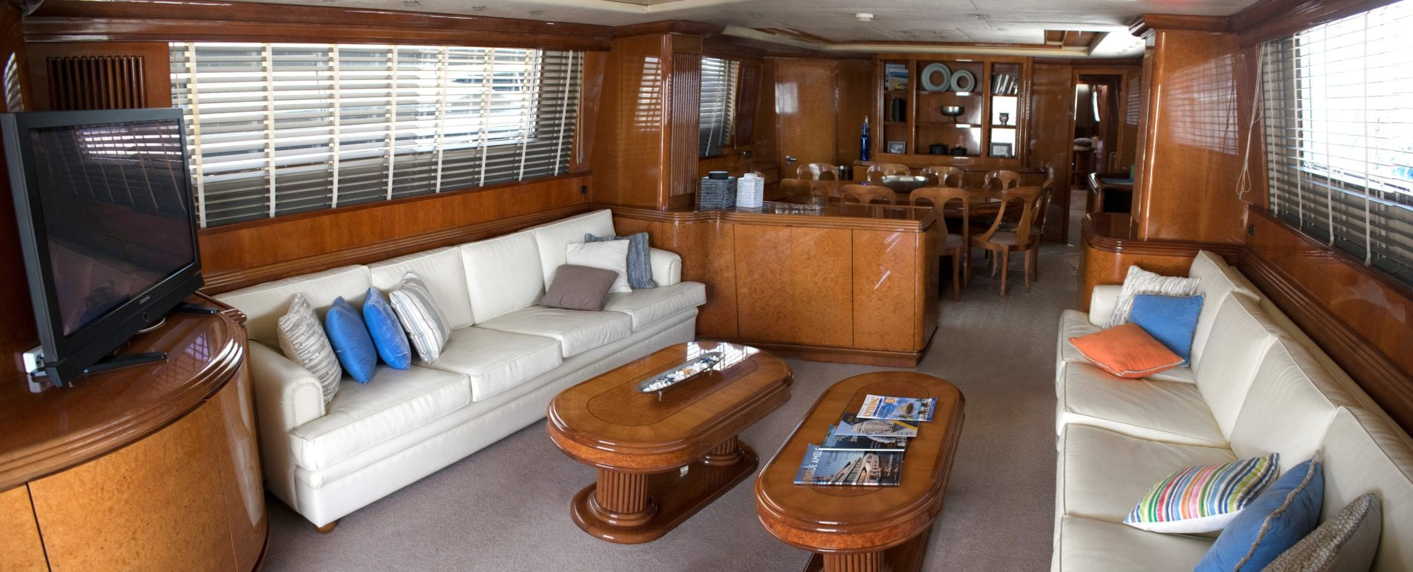 monte carlo falcon motor yacht salon (2) min -  Valef Yachts Chartering - 3134