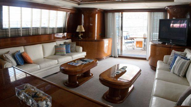 monte carlo falcon motor yacht salon (3) min -  Valef Yachts Chartering - 3133