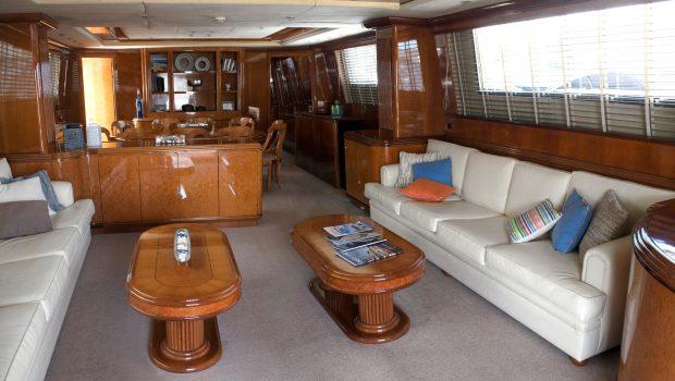 monte carlo falcon motor yacht salon (6) min -  Valef Yachts Chartering - 3130