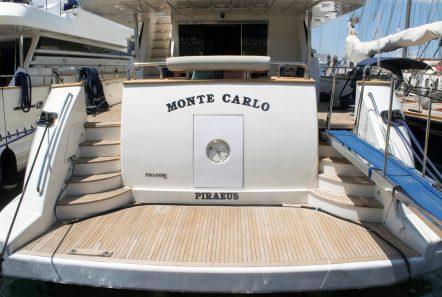 monte carlo falcon motor yacht swim platform min -  Valef Yachts Chartering - 3153
