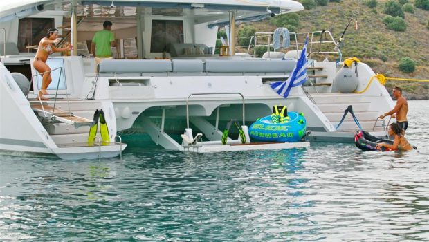 nova catamaran aft (2) -  Valef Yachts Chartering - 2742