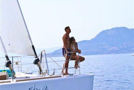 nova catamaran bow -  Valef Yachts Chartering - 2740