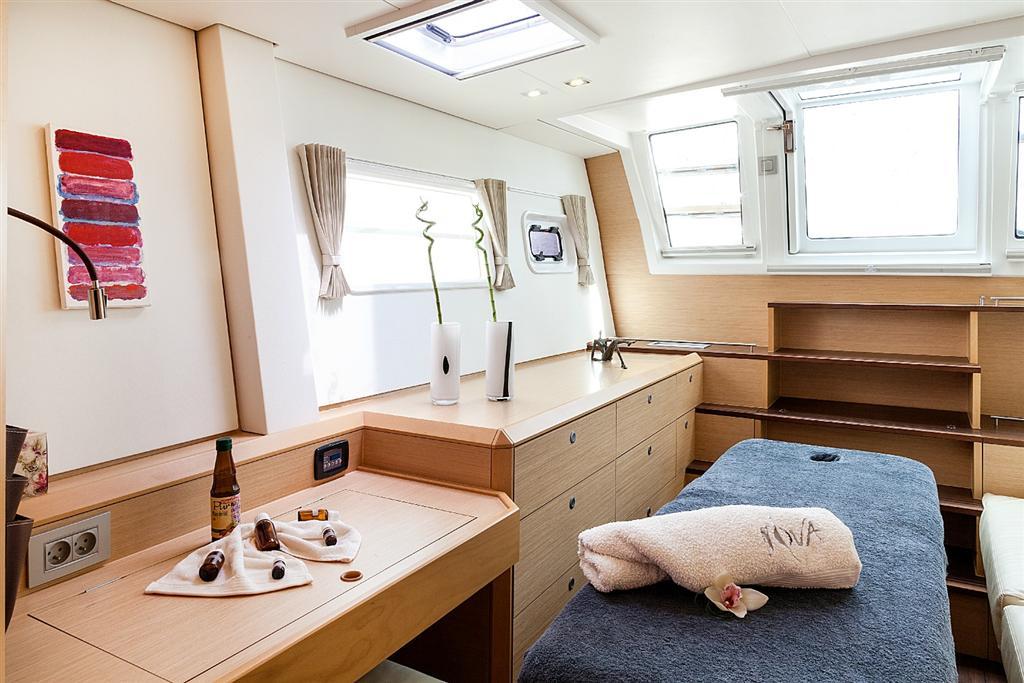 nova catamaran cabin angle -  Valef Yachts Chartering - 2739