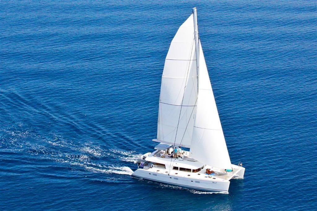 nova catamaran profile -  Valef Yachts Chartering - 2727