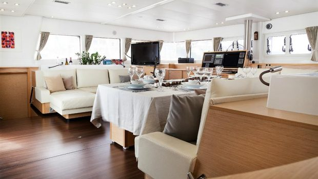 nova catamaran salon (6) -  Valef Yachts Chartering - 2720