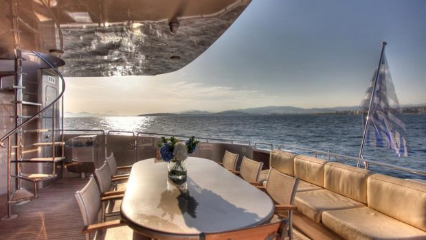 pandion motor yacht aft (1) -  Valef Yachts Chartering - 3401