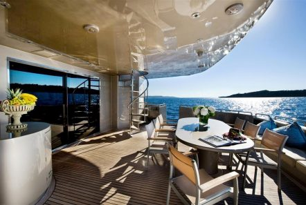 pandion motor yacht aft (2) -  Valef Yachts Chartering - 3400