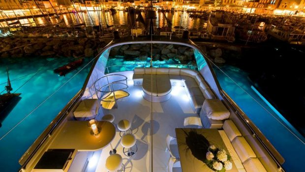 pandion motor yacht deck -  Valef Yachts Chartering - 3396