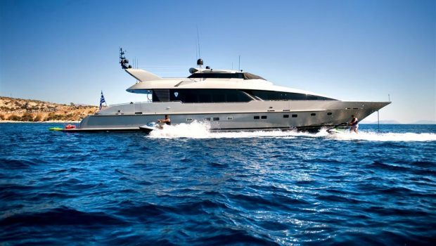 pandion motor yacht exterior (2) -  Valef Yachts Chartering - 3387