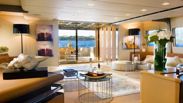 pandion motor yacht salon (1) -  Valef Yachts Chartering - 3414