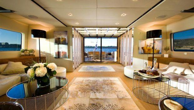 pandion motor yacht salon (2) -  Valef Yachts Chartering - 3413
