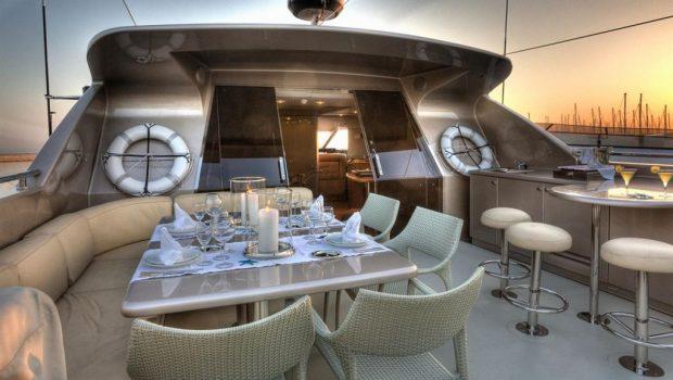 pandion motor yacht sundeck (1) -  Valef Yachts Chartering - 3411