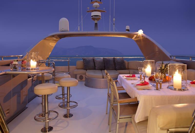 pandion motor yacht sundeck (2) -  Valef Yachts Chartering - 3410