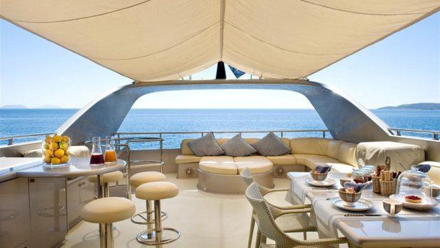 pandion motor yacht sundeck (3) -  Valef Yachts Chartering - 3409