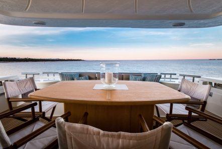 piola motor yacht aft deck (3) min -  Valef Yachts Chartering - 3382