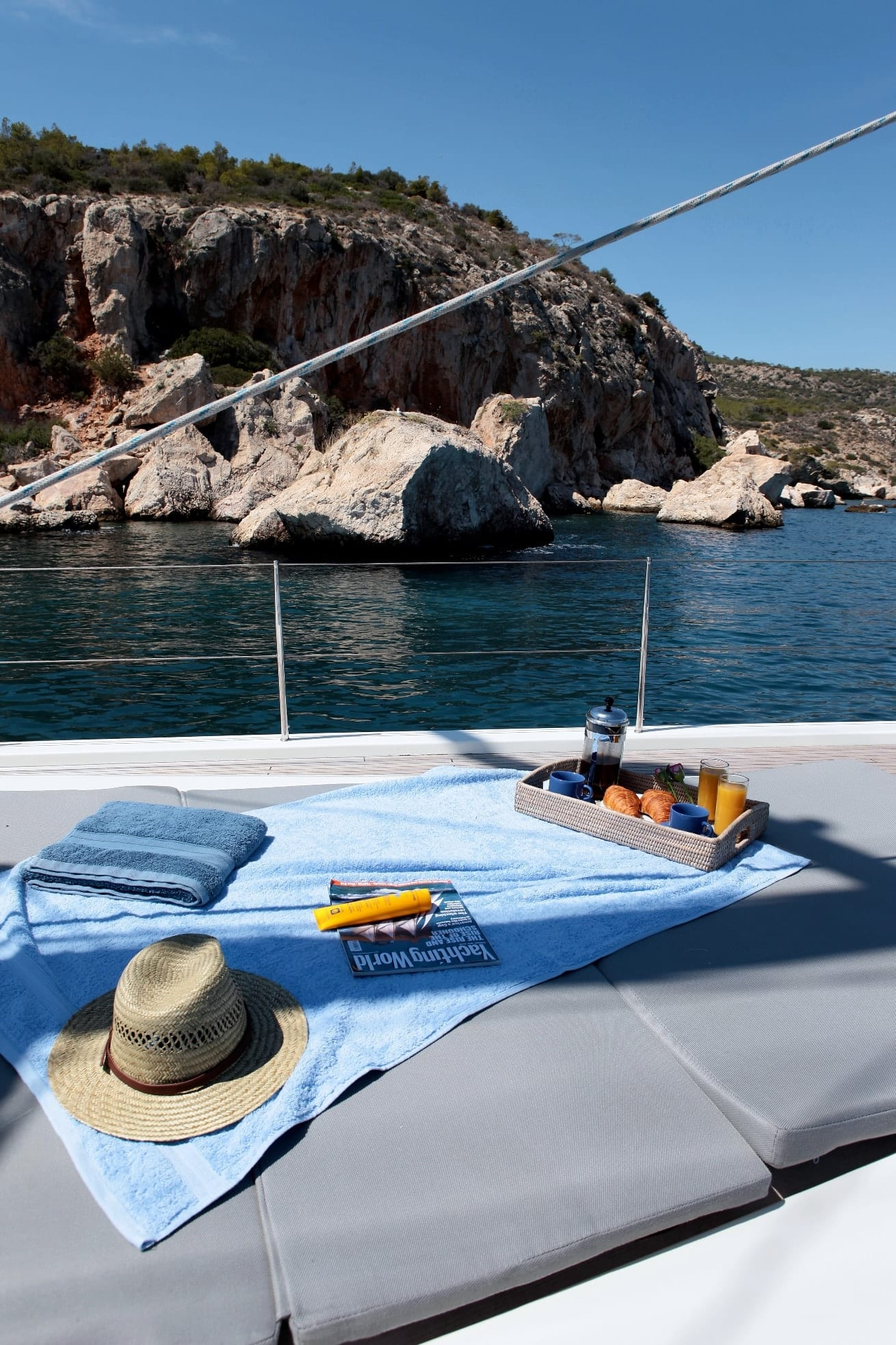 shooting star sailing yacht exterior (2) min -  Valef Yachts Chartering - 3635