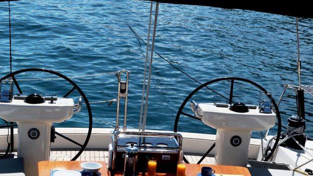 shooting star sailing yacht exteriors (2) min -  Valef Yachts Chartering - 3633