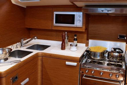 shooting star sailing yacht galley min -  Valef Yachts Chartering - 3631