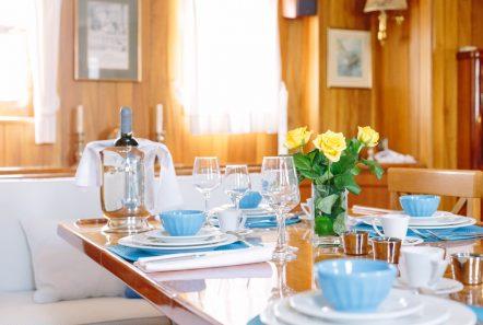 sir winston churchill classic sailing yacht dining (6) -  Valef Yachts Chartering - 2794