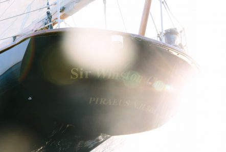 sir winston churchill classic sailing yacht tronsom -  Valef Yachts Chartering - 2788