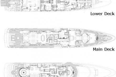 sunday megayacht deckplan min -  Valef Yachts Chartering - 3361