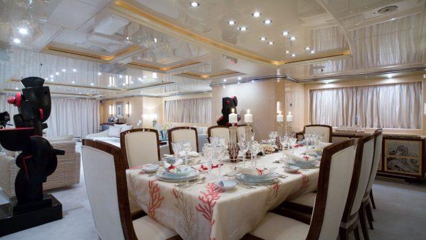 sunday megayacht dining (1) min -  Valef Yachts Chartering - 3360