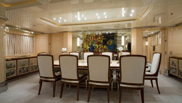 sunday megayacht dining (2) min -  Valef Yachts Chartering - 3359
