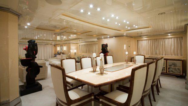 sunday megayacht dining (3) min -  Valef Yachts Chartering - 3358